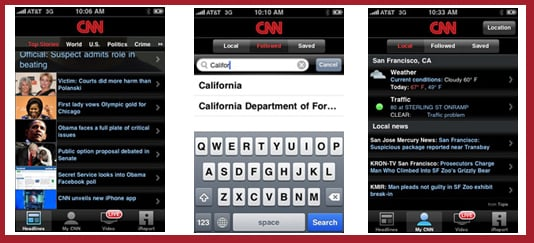 New iPhone App From CNN