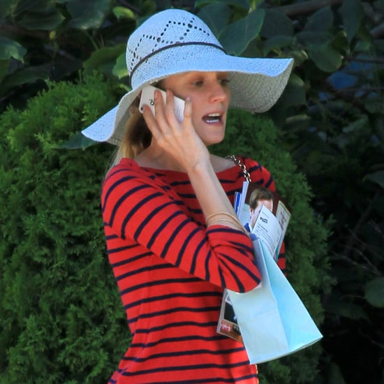 Diane Kruger Wears a Striped Shirt | Pictures