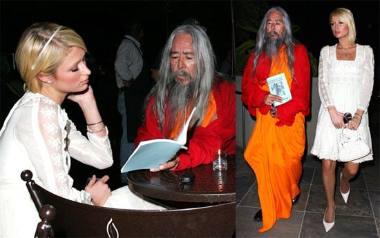 Paris Hilton Gets Some Enlightenment, That's Hot