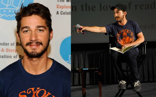 Photos of Shia LaBeouf at The Wonder of Reading's Explore-a-Story: A Celebration of Books