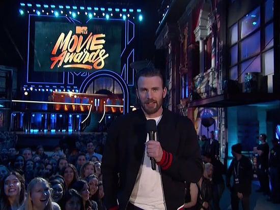 Chris Evans Debuts Brand-New Captain America: Civil War Sneak Peek at the MTV Movie Awards