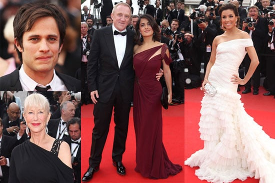 Pictures of Russell Crowe, Kate Beckinsale, Cate Blanchett, Tim Burton, Salma Hayek And Gael Garcia Bernal at Cannes 2010-05-12 12:30:00