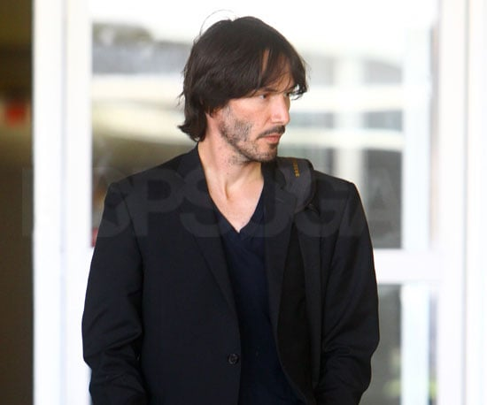 Slide Picture of Keanu Reeves at LAX