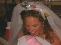Bride-to-Be Tastes Penis Cake