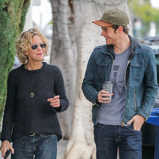 Meg Ryan and Son Jack in LA January 2016