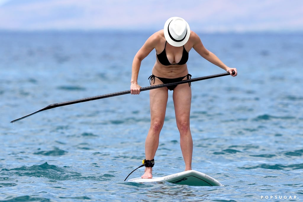 Chelsea Handler got active during her Hawaii trip.