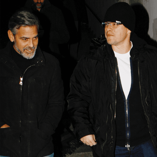 Matt Damon and George Clooney's Fake Feud | Video