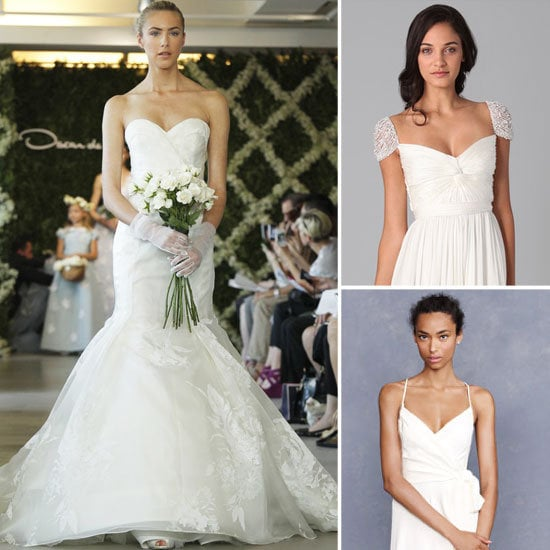 Our wedding wish list — we pick 20 of the chicest, dreamiest, most perfect dresses for your big day.