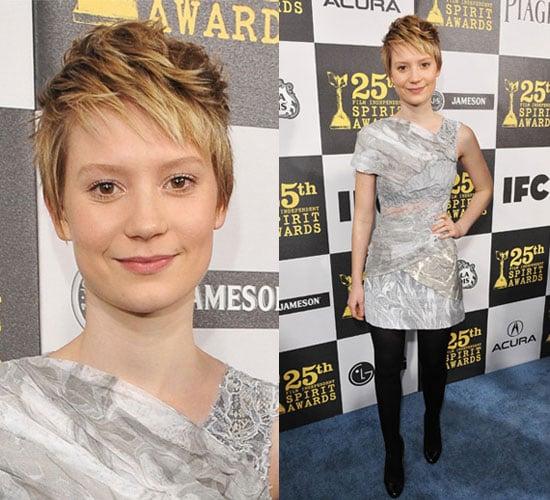 Mia Wasikowska at 2010 Independent Spirit Awards 2010-03-06 16:30:02