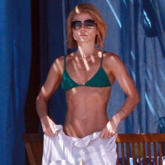 Matthew Bomer Shirtless and Kelly Ripa in Her Bikini in Cabo