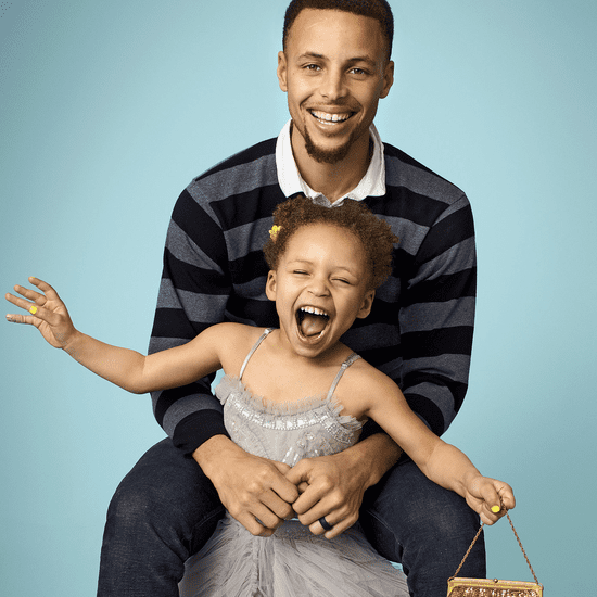 Steph and Ayesha Curry in Parents Magazine June 2016