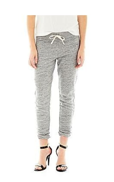 Who says you can't wear sweatpants out of the house? These