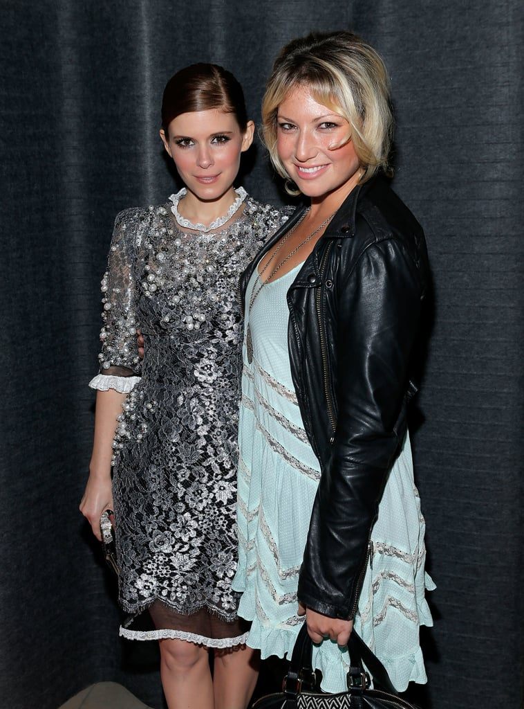 Kate Mara talked with Ari Graynor at the House of Cards afterparty.
