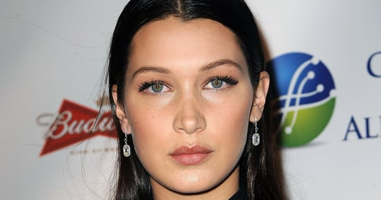 Bella Hadid Wore A Risqué Mesh Dress To Celebrate Her Birthday