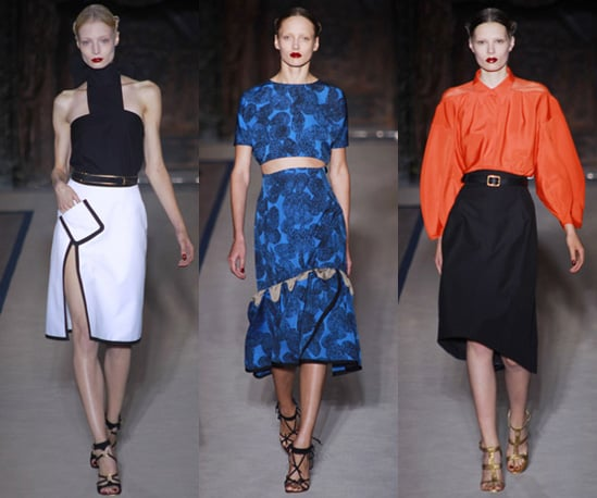 Photos of Yves Saint Laurent Spring 2011 at Paris Fashion Week
