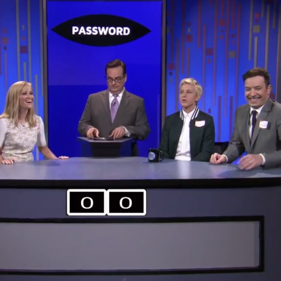 Reese Witherspoon Plays Password Game on The Tonight Show
