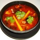 Tom Yum Koong Soup. -Thai.