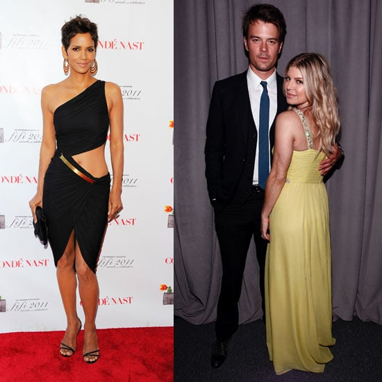 Halle Berry in Revealing Halston Dress Pictures