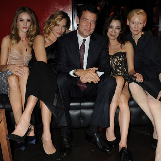 Clive Owen Pictures at Vertu Launch With Rosie Huntington-Whiteley