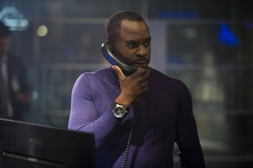 Gbenga Akinnagbe as Erik Ritter on the show.