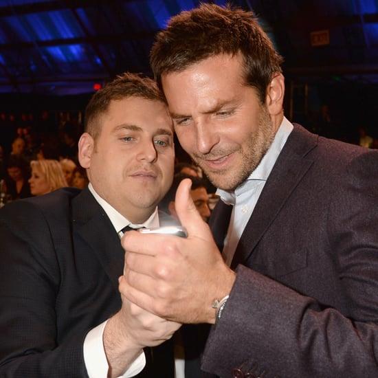 Jonah Hill and Bradley Cooper at Critics' Choice Awards 2014