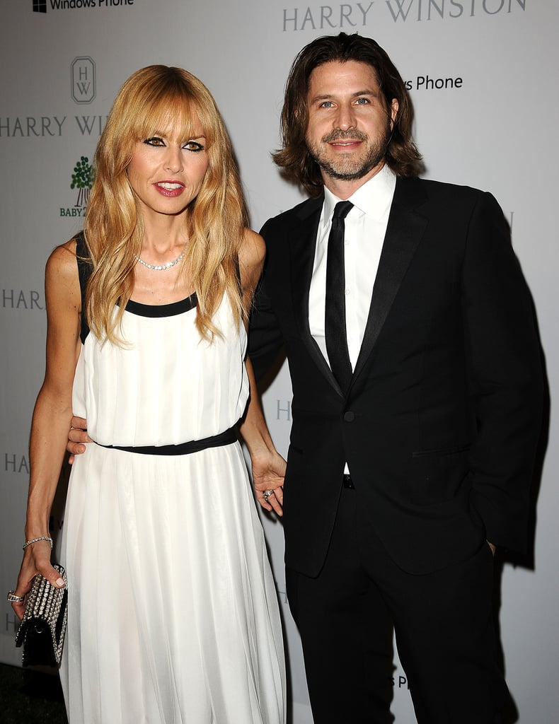 Rachel Zoe was in the company of husband Rodger Berman for the Baby2Baby Gala in LA.