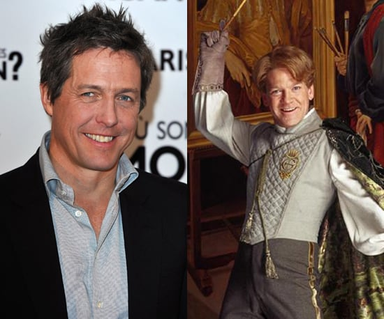 Hugh Grant as Gilderoy Lockhart