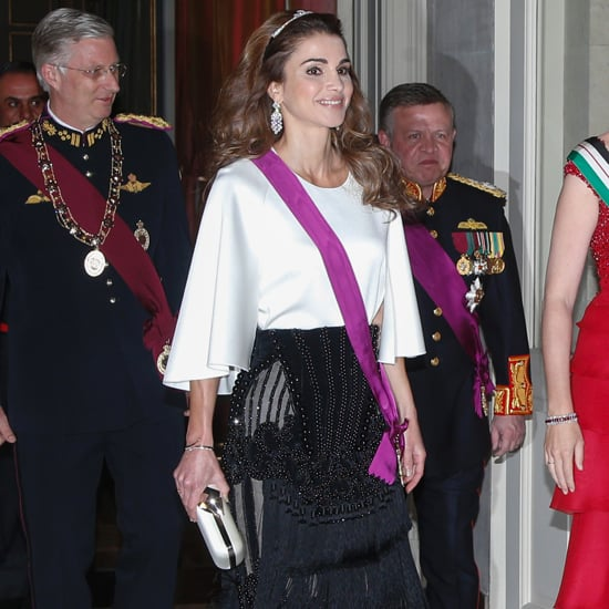 Queen Rania Balmain Skirt May 2016