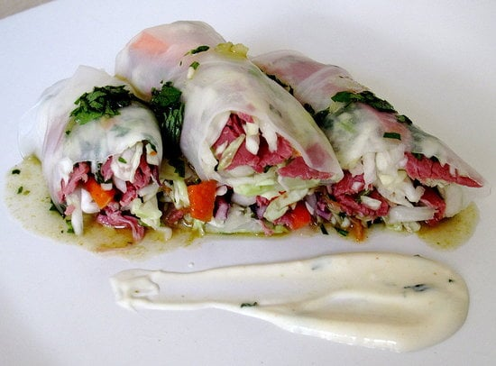 Sugar Shout Out: For a Quick Bite, Roll Your Own Spring Rolls