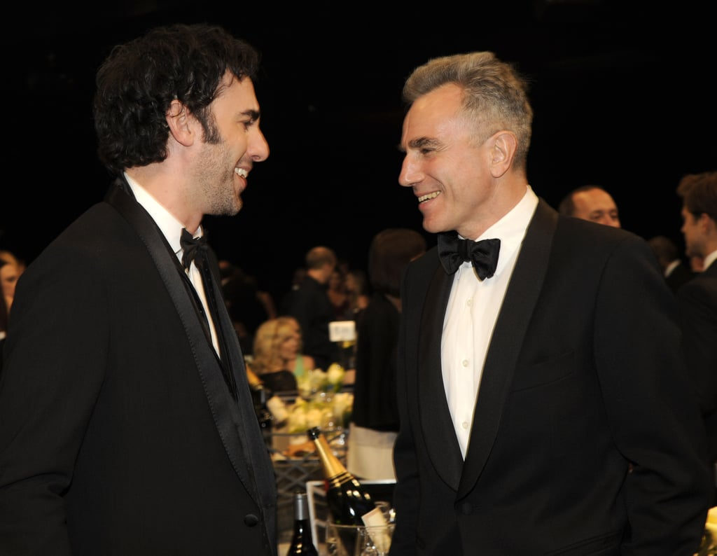 Sacha Baron Cohen and Daniel Day Lewis chatted.