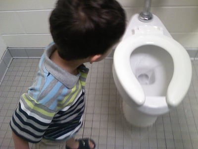 6 Reasons Boys Should Sit During Potty Training