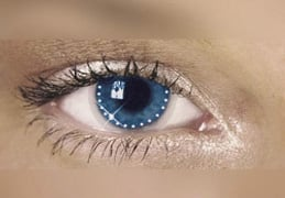 Swarovski Crystal Contact Lenses