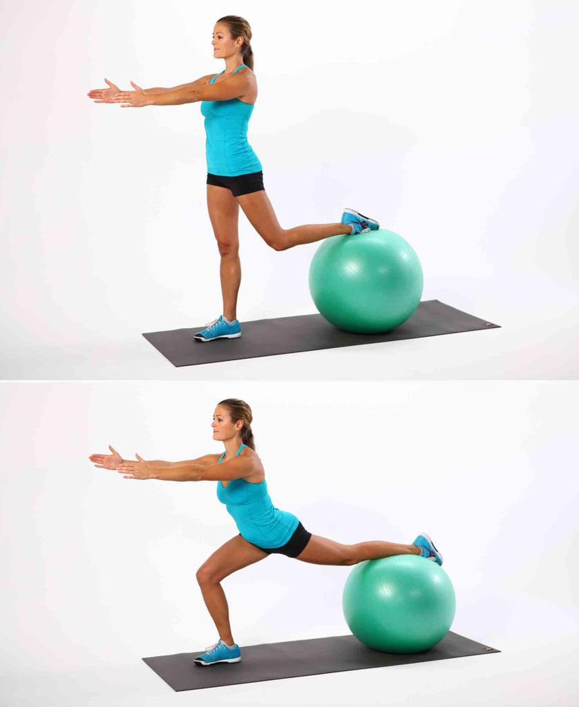 Lunges on a Ball