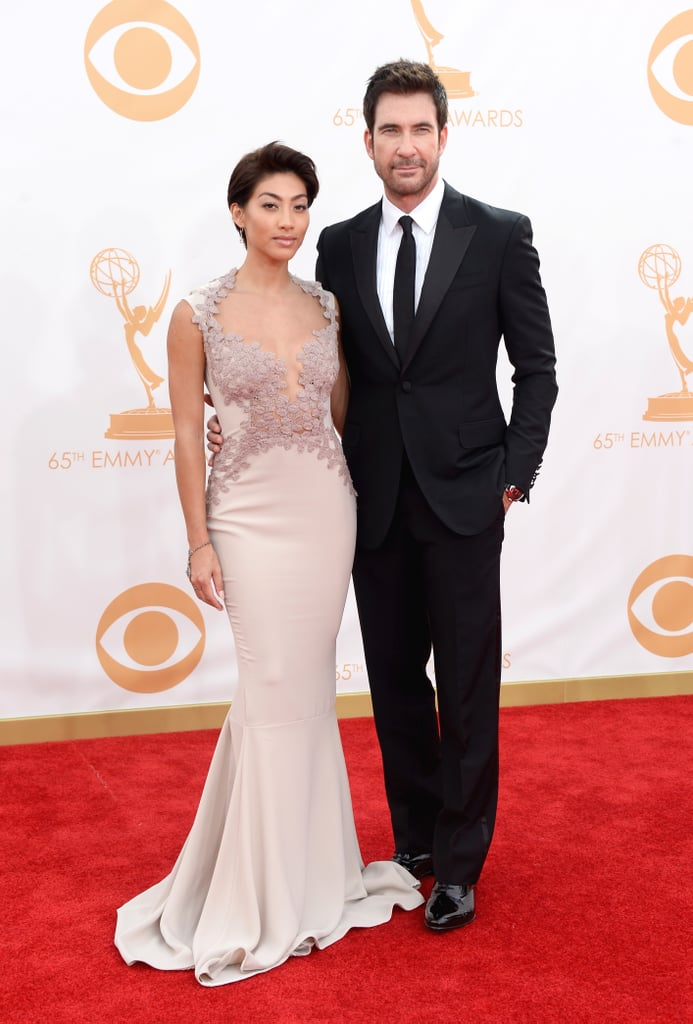 Dylan McDermott and Shasi Wells attended the 2013 Emmys.