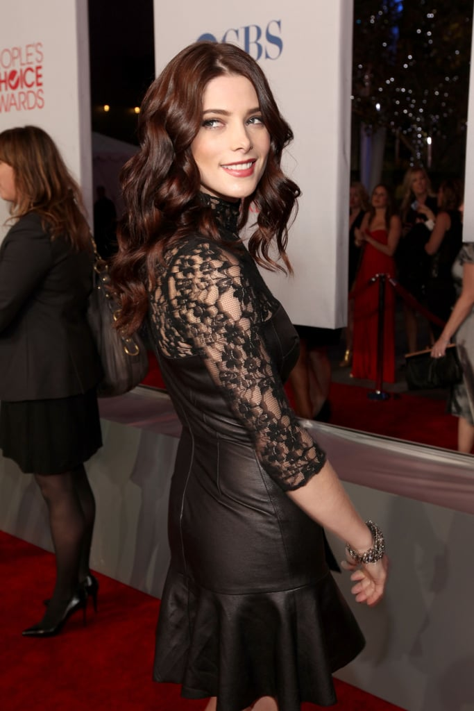 Ashley Greene was all smiles.