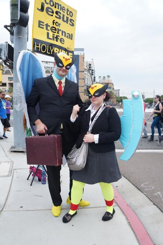 The law's got nothing on this Harvey Birdman duo.
