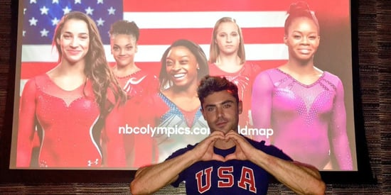 Simone Biles And Zac Efron Are Flirting On Twitter, And We're Giddy