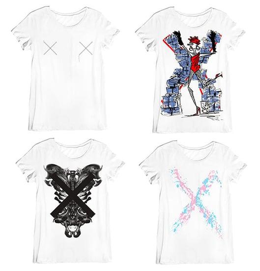 Style.com Roman Numeral X Tees