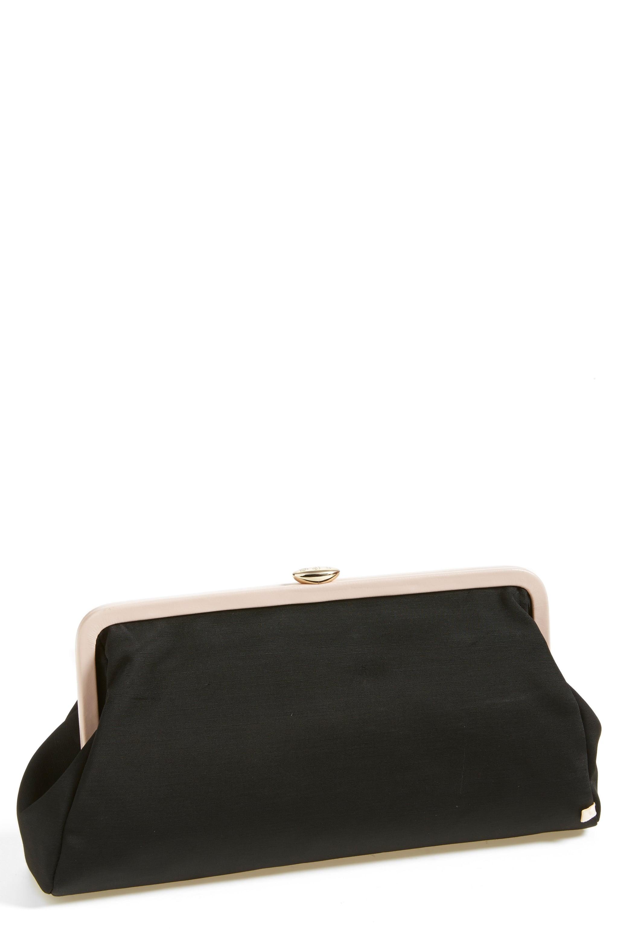 Beekman Clutch in Black, $245