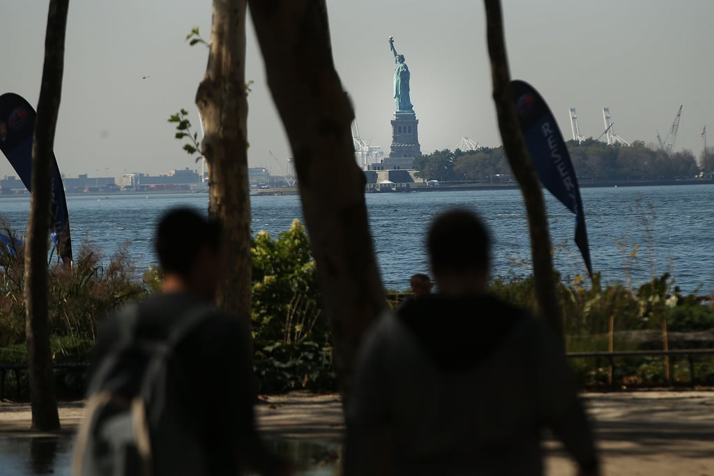 The Statue of Liberty was closed in NYC because of the shutdown.