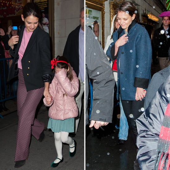 Katie Gets an Honor—and Brings Suri to Her Broadway Show