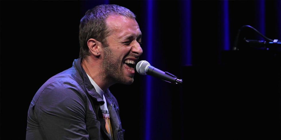 Video: Watch Chris Martin Perform His New Single From Catching Fire!