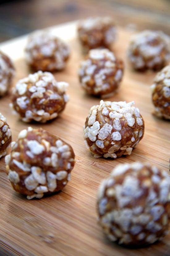 No-Bake Vegan Peanut Butter Crisp Balls