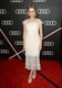 Once Upon a Time's Rose McIver wore a lacy, white number.