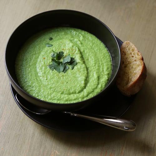 Vegan Green Pea Soup