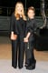 Elizabeth Olsen, in The Row, with Mary-Kate Olsen, in vintage Issey Miyake, at the 2013 CFDA Awards. Source: Billy Farrell/BFAnyc.com