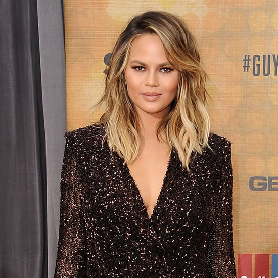Chrissy Teigen Wearing Dion Lee Dress June 2016