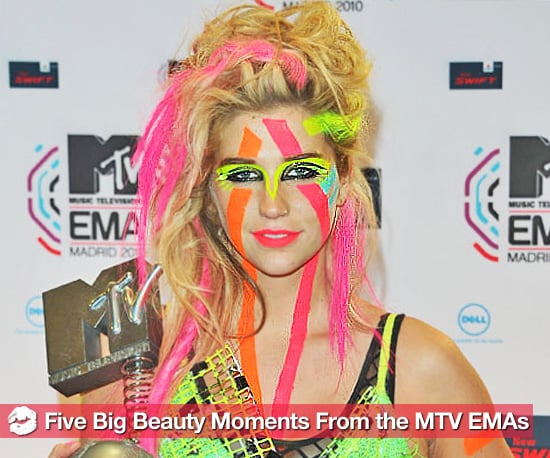 5 of the Biggest Beauty Moments From the MTV Europe Awards