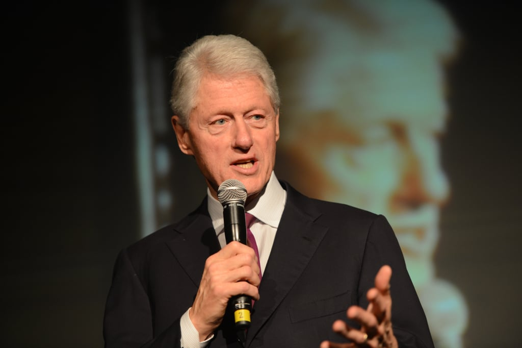 President Clinton spoke at the event.