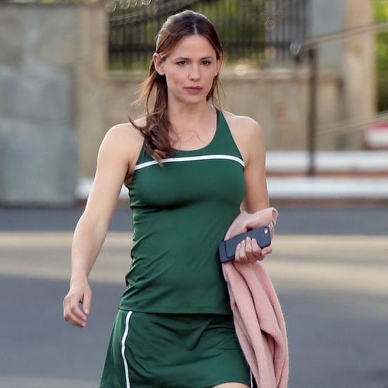 Jennifer Garner Plays Tennis on Set of New Movie March 2016